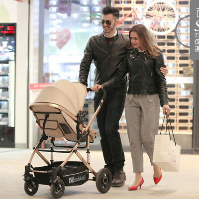 9 in 1 Foldable Baby Stroller Pram & Bassinet Newborn Jogger Travel Pushchair AU
