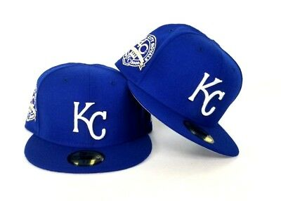 cheap for discount d4812 03b24 New Era Royal Blue Kansas City Royals 59Fifty KC Fitted hat