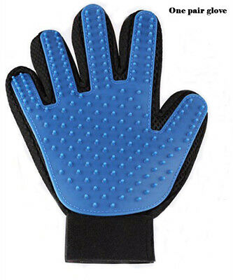 Pet Grooming Glove,Deshedding Brush Glove with 5 Fingers Suit for Dog,Cat,Horse