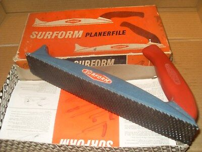 Surform Planerfile No.122 - Standard Flat Cut - As Photo's