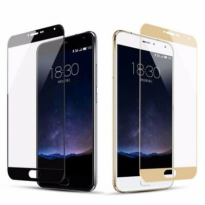 Real Full Cover Tempered Glass Protective Screen Protector Film For Meizu Series