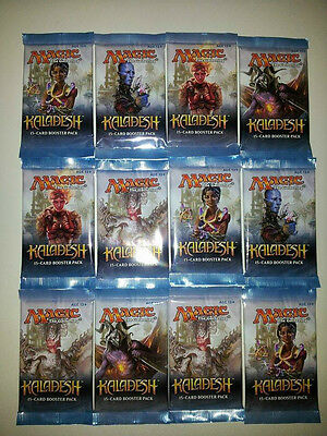 12x Kaladesh Booster englisch, geöffnet! Magic the Gathering! MTG