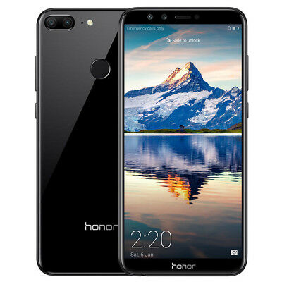 5.65'' Huawei Honor 9 Lite Android 8.0 OctaCore​ 4G Smartphone 4+32Go 4-Cam 13MP