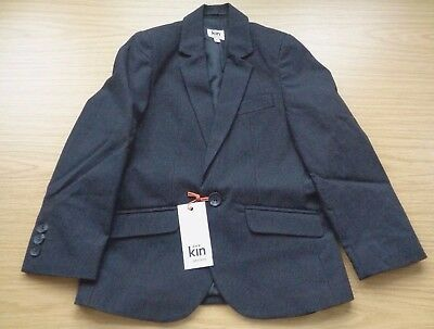 John Lewis Boys Kin Pinstripe Jacket Age 5 New With Tag