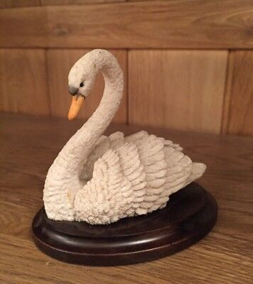 Vintage Country Artists Small Swan Ornament