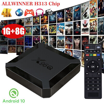 NEW 2+16G Android 9.0 Pie Smart TV BOX RK3229 Quad Core WIFI 3D Sports HDR10 FR