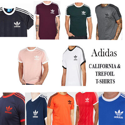 Adidas California Crew Neck Short Sleeves Casual Sports Tees/T-shirt for Men