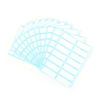 12sheet self adhesive sticky white label writable name stickers Blank label M&FO