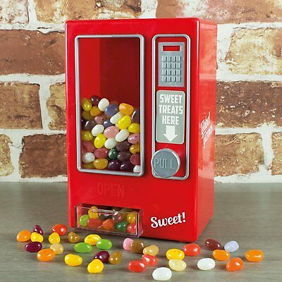 Sweet Vending Machine Toy Retro - Global Gizmos Ideal Gift Pack for Family Kids