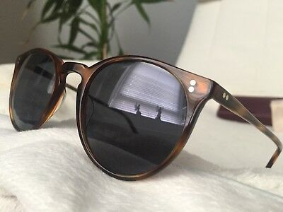 32927a80cfbf Oliver Peoples The ROW O Malley NYC OV5183SM 1556R5 Tortoise +Blue Mineral  Glass