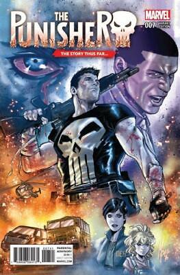 The Punisher #7 (Vol 11) Variant Marco Checchetto Story Thus Far Cover