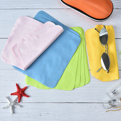 5pcs glasses lens cloth wipes for sunglasses microfiber eyeglass cleaning cloth