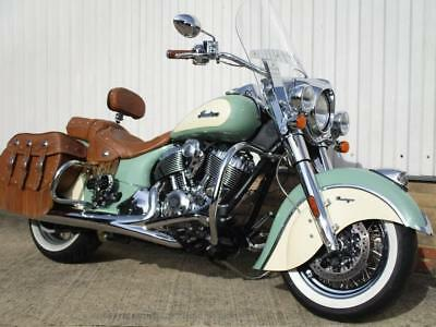 2016 Indian Chief Vintage...one owner...3541 miles..