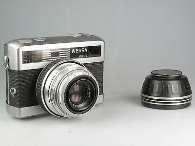 Carl Zeiss Jena Werra matic mit Tessar 2,8 50 mm Q1 82025