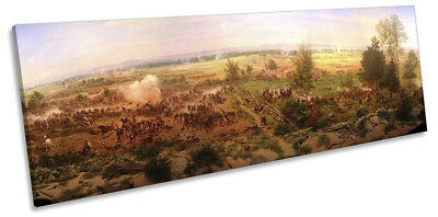 Paul Philippoteaux Gettysburg Cyclorama Picture PANORAMA CANVAS WALL ART Print