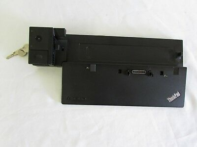 Lenovo Thinkpad Pro Dock Type 40A1 Usb 3.0 Docking Station W/ Keys