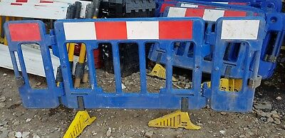 Road Barrier Chapter Heras Avalon Traffic Blue