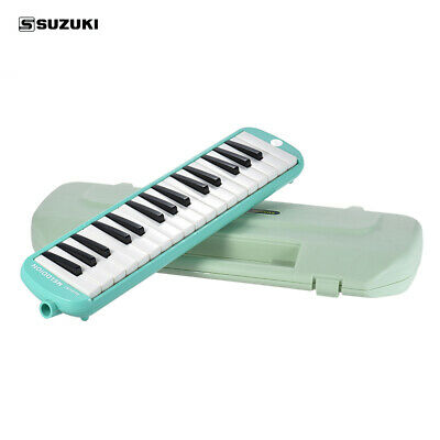SUZUKI MX-32D 32 Keys Melodion Melodica with Mouthpiece + Case for Students D7H1
