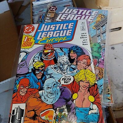 Justice League Europe, International Lot - Complete Series Set w/#s 1-68, Giffen