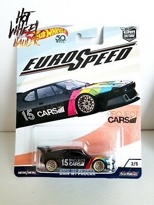 Hot Wheels 2018 Car Culture Euro Speed Projec Cars Bmw M1 Procar 2