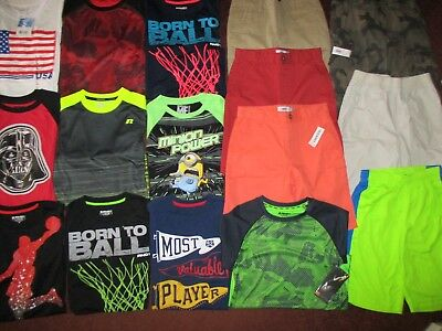 Boys SCHOOL SPRING SUMMER Sz 10  Lot CLOTHES & OUTFITS Shorts Jeans & Tops