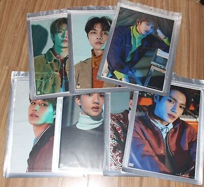 Nct 2018 Empathy Smtown Giftshop Official Goods A4 Size Photo Sealed