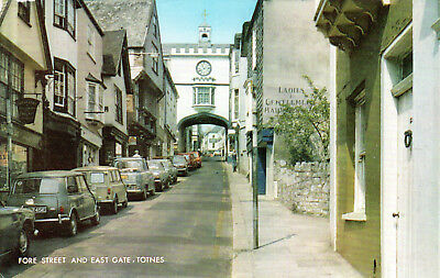 England - Totnes  -  Fore Street and East Gate