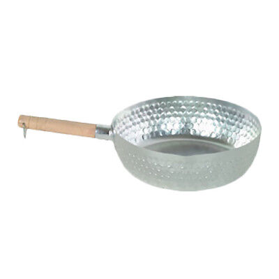 "Thunder Group ALSP003 8"" Aluminun Studded Snow Flat Pan w/ Round Imprint Sides"