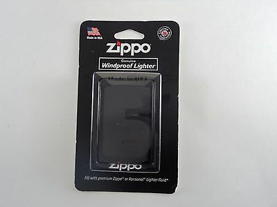 "Zippo ""Black Matte"" Finish Full Size Lighter,  218"