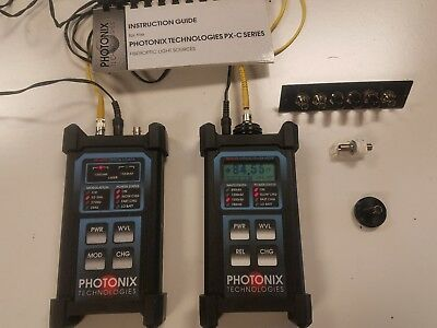 Photonix Technologies PX-B200 Optical Power Meter & PX-C 205 Series Laser Source