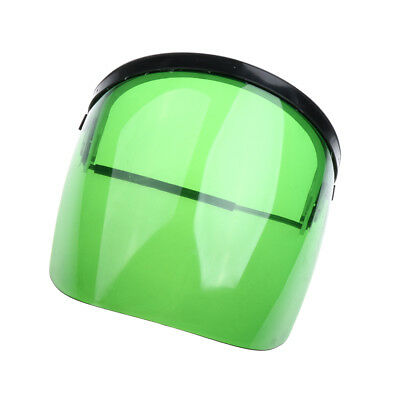 Protective Clear Green Face Safety Shield Mask Eye Protection Welding