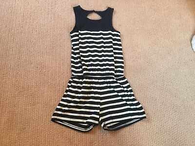 New with tags Gap kids size 10 romper with stripes