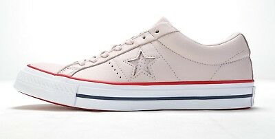 3b302454eea0 CONVERSE ONE STAR OX 160623C BARELY ROSE GYM RED WHITE (msrp   75 ...