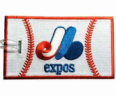 Montreal Expos Embroidered Luggage Tag (NEVER BREAKS!)