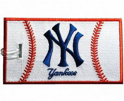New York Yankees Embroidered Luggage Tag (NEVER BREAKS!)