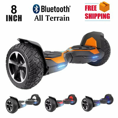 """Hoverboard 8"""" Auto Self Balancing Wheel Electric Scooter with Bluetooth Speaker"""