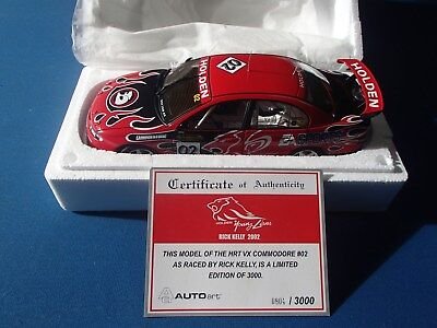 Biante 1:18 Holden Vx Commodore 2002 Hrt Young Lions Rick Kelly New In Box Rare