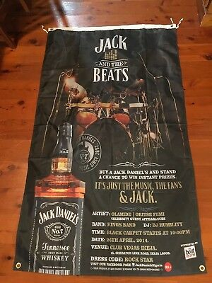 Mancave jack Daniels flag shed signage poolroom motorcycle USA poster bourbon
