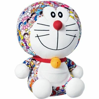 Cute UNIQLO DORAEMON X Takashi Murakami Limited Plush Doll Toy 25CM