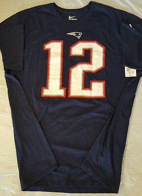 0cdc8bb5 NFL New England Patriots Tom Brady Nike Pride Name & Number T-Shirt Men's  3XL