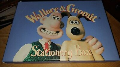 Wallace and Gromit Gift Stationary Box with Stationery 1997