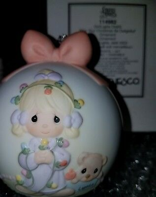 """Precious Moments """"May Your Christmas be Delightful"""" ORNAMENT 2003 - 114982"""
