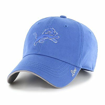1e5c2945 DETROIT LIONS NFL Women's Adjustable Team Logo Blue Hats / Hat Cap