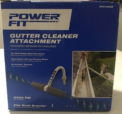YAMAHA OEM Gutter Cleaner ACC-31051-00-13 for Pressure Washers up to 3300 PSI