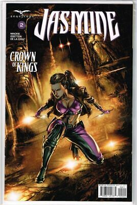 Grimm Fairy Tales Presents Jasmine Crown of Kings #2 Cover A NM 2018 Zenescope