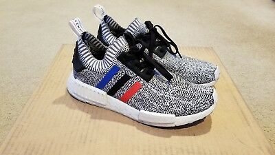 """d3ad54ac1 ADIDAS NMD R1 PK """"TRICOLOR"""" size 8.5 used very limited stock"""