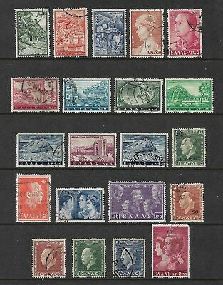 GREECE mixed collection No.29, used