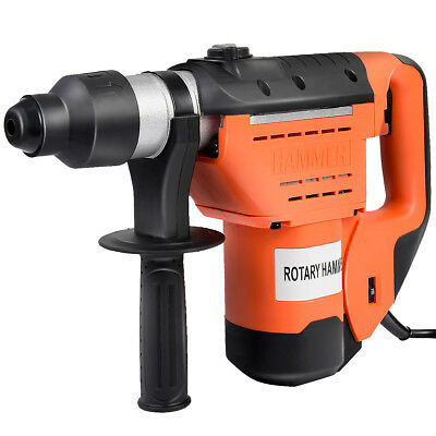 """1-1/2"""" SDS Electric Rotary Hammer Drill Plus Demolition Bits Variable Speed New"""