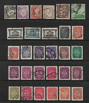PORTUGAL mixed collection No.25, incl Lusiadas, Caravel, used