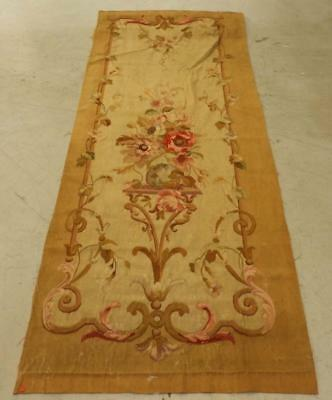 18C French Aubusson Hanging Panel Tapestry Textile Lot 174